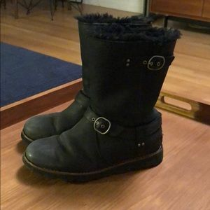Ugg Waterproof Leather Boots